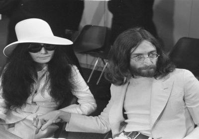 John Lennon, George Harrison, Yoko Ono