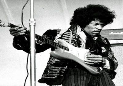 Jimi Hendrix chitarra