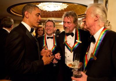 """Led Zeppelin: quella volta che stavano """"distruggendo"""" la Casa Bianca"""