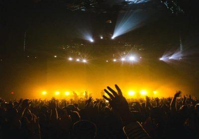 musicisti rock ripresa concerti