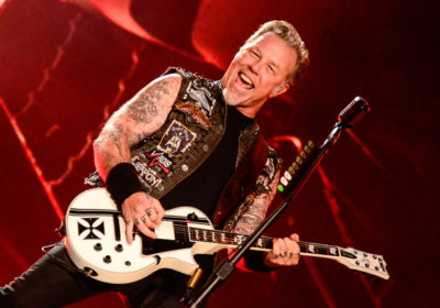 James Hetfield thrash metal