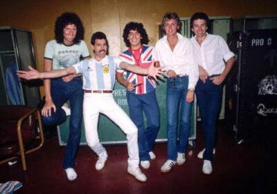Brian May Maradona